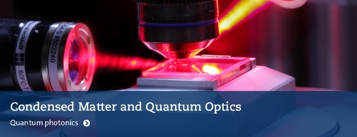 Quantum photonics group