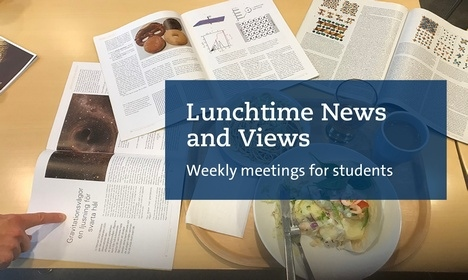 Lunchtime news and views